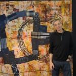 Joe Cunningham with Patchwork Quilt, 2012