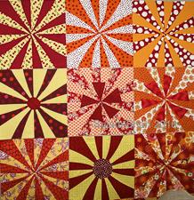 Sujata Shah - Marigold Pinwheels